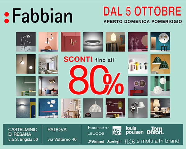 Fabbian Promo Outlet 2019