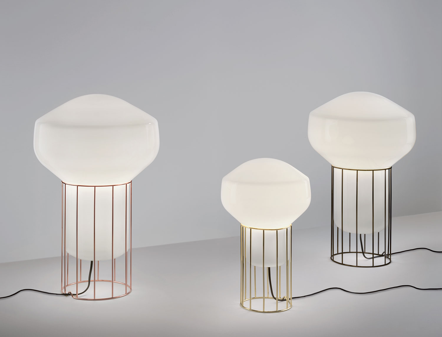 f27 aèrostat collection lamps and chandeliers fabbian illuminazione