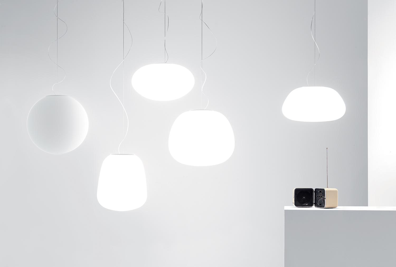 F lumi sfera lampada da parete e soffitto fabbian illuminazione