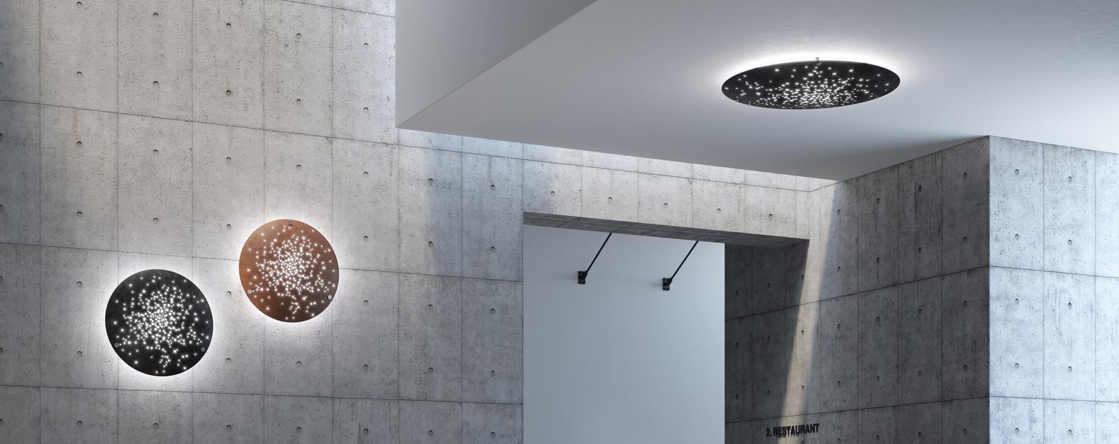 Produzione lampade lampadari design luci moderne progetto - Plafoniere da esterno moderne ...