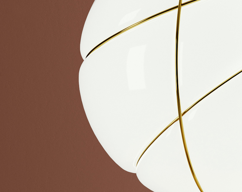 Produzione lampade lampadari design luci moderne progetto