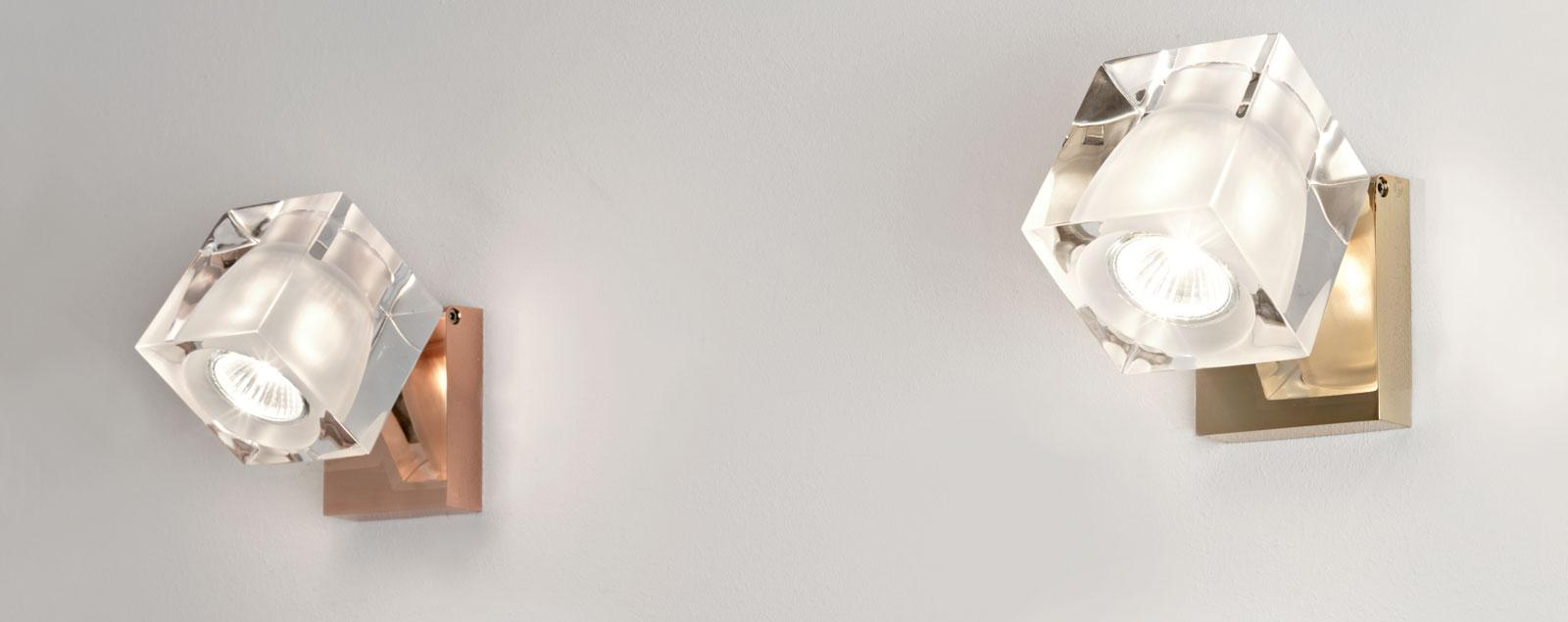 D28 Cubetto wall and ceiling - Fabbian Illuminazione