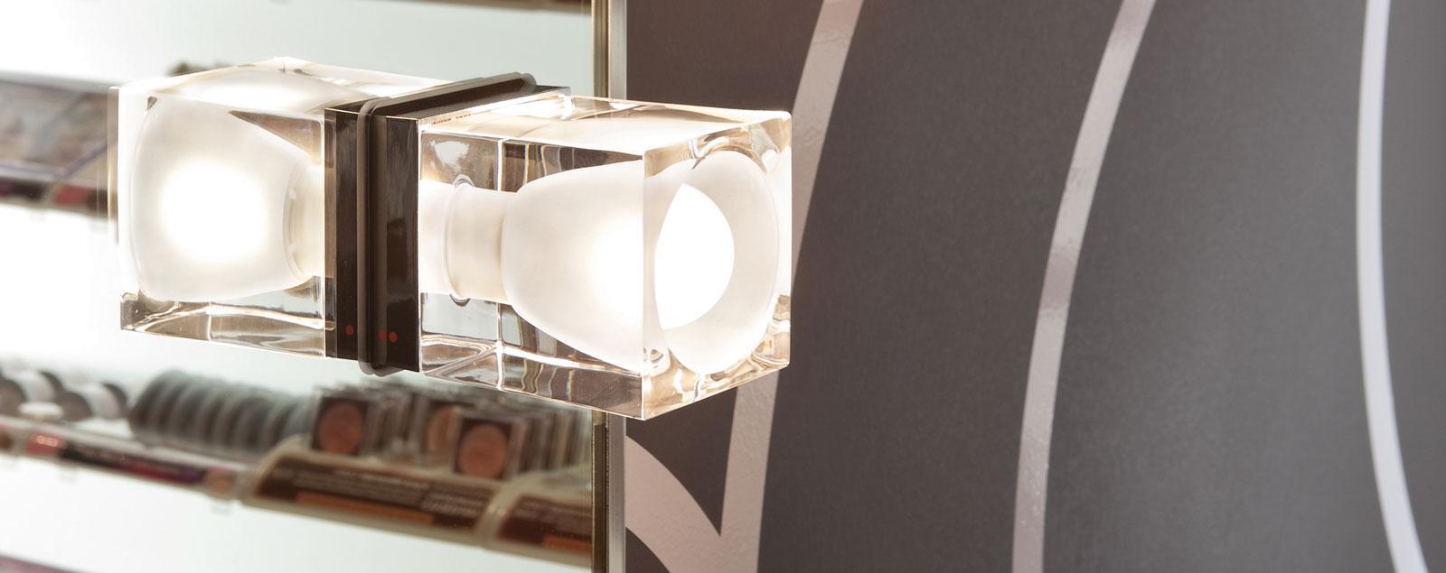 D28 Cubetto wall and ceiling - Fabbian Illuminazione