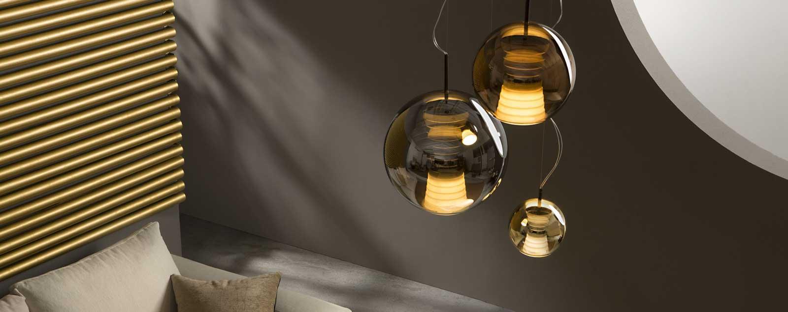 D57 Beluga Royal pendant lamp - Fabbian Illuminazione