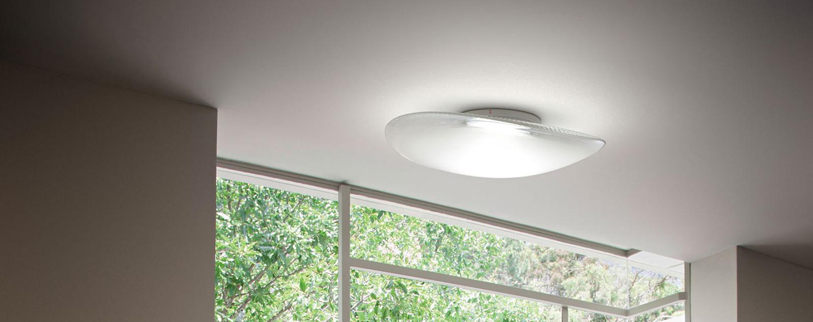 F35 Loop wall and ceiling lamp - Fabbian Illuminazione