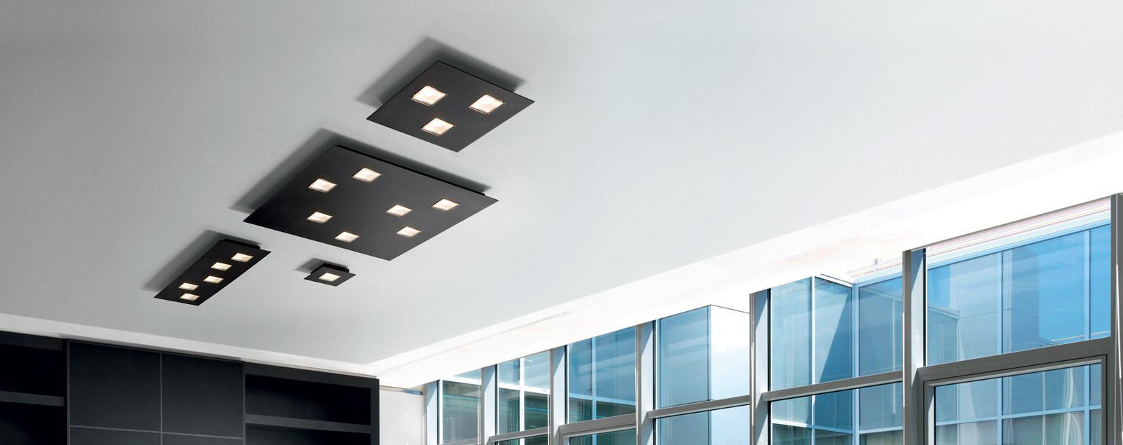 F38 Quarter wall and ceiling lamp - Fabbian Illuminazione