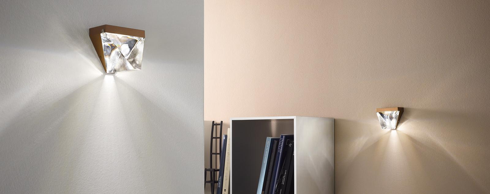 F41 Tripla wall lamp - Fabbian Illuminazione