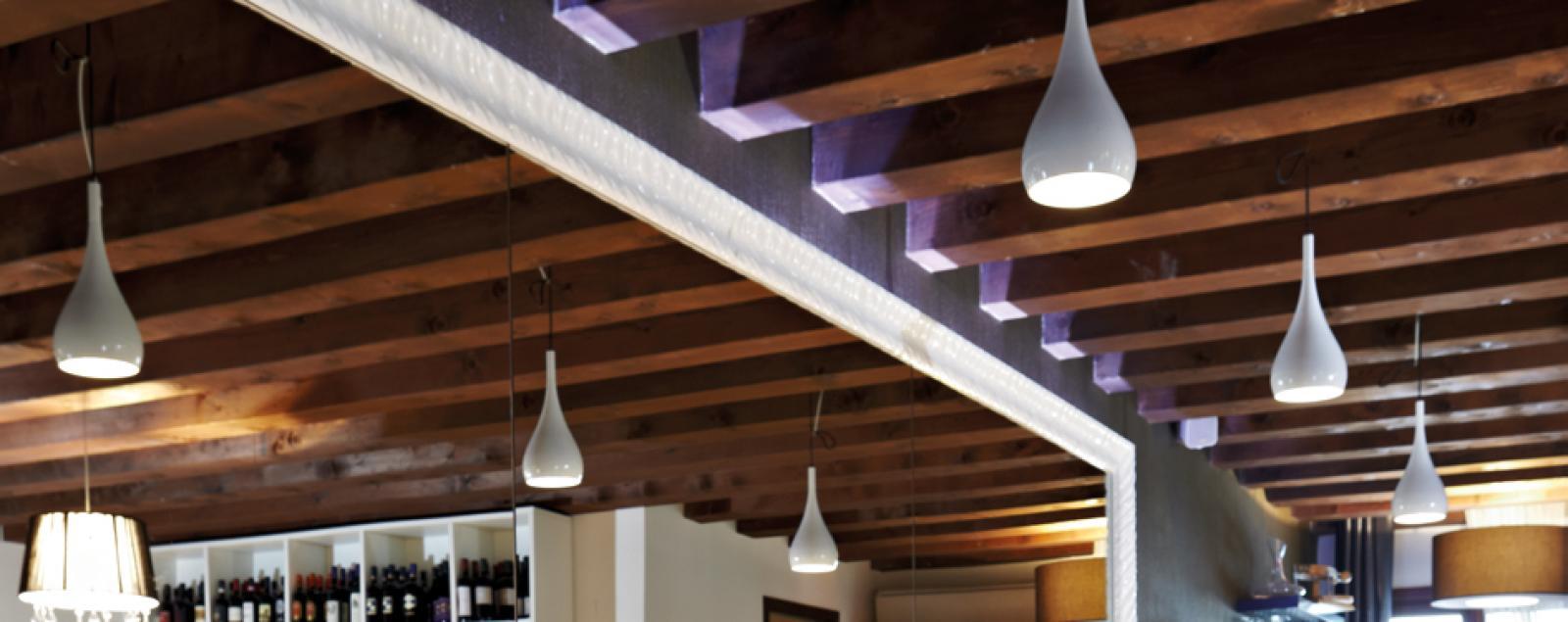 abbastanza Illuminazione bar Lampade per bar a sospensione e da parete | Fabbian CY08