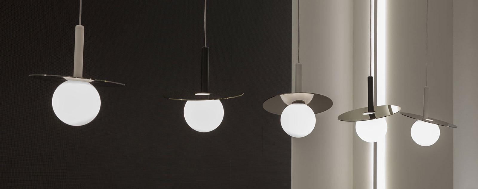 Studio La Sala Milano lighting project: offices bars restaurants exhibitions