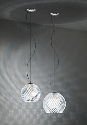 D82 Diamond Swirl collection - Lamps and Chandeliers Fabbian ...