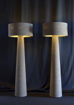 Lampade di cartone Fabbian Studio Pamio